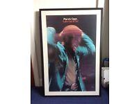 Very rare original Marvin Gaye promo poster
