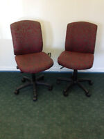 9 office chairs  $15 each