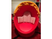 Ikea egg chair.