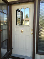 Steel Exterior Door with Screen/Storm door