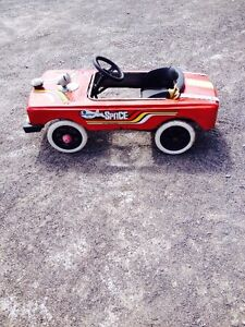 STEEL TOY PEDAL CAR