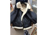 Leather/sheepskin Jacket