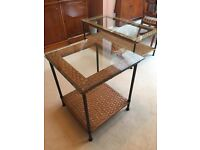 Marks and spencer rattan side table