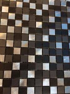 Metal mosaic tiles - 1.72m2 with waste Northbridge Willoughby Area Preview