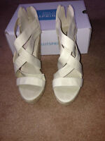 BRAND NEW WOMENS WEDGES SIZE 7 1/2