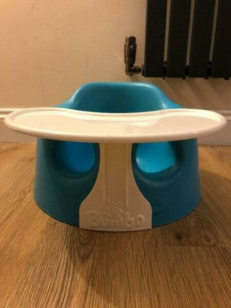 Baby And Toddler Chair. Bumbo Seat With Tray Sold As A Set