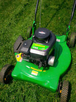 "20"" Weed Eater Lawnmower"