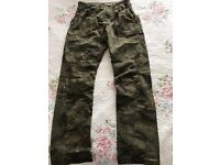 NEXT brand new army pants trousers training action man her superhero gift Xmas 14-15 cargo combat