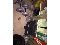York Dumbells 50kg set