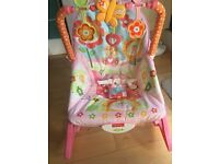 SOLD Fisher Price Infant to toddler Rocker with Vibrating feature