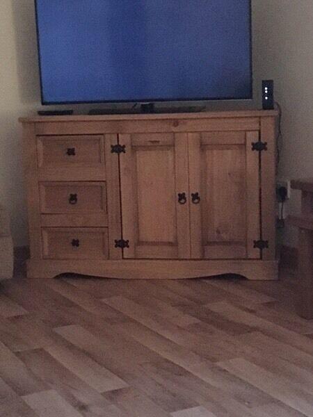 Swap unit for a tv unit oak colour