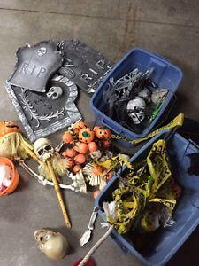 décoration d'halloween doit sortir cette semaine