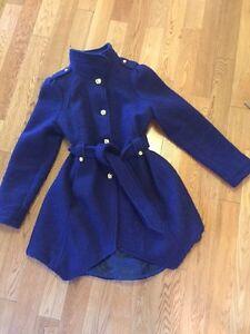 Bebe Wool winter jacket - purple Large Kitchener / Waterloo Kitchener Area image 1