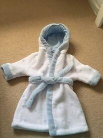Soft baby bath robe 0-6 month