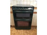 Cannon free standing green double oven