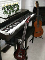 GUITAR AND PIANO LESSONS PROVIDED IN THE COMFORT OF YOUR HOME
