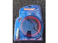 AutoLeads Car Sub Amp Wiring Kit
