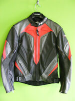 TEKNIC Leather Jacket - Size Small - MINT at RE-GEAR