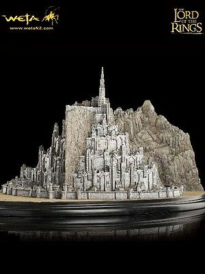 Weta Collectibles The Lord of the Rings Minas Tirith Polystone Environment New
