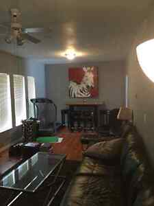 Two Bedroom Apartment.  Separate Entrances X 2.  Back Yard!!
