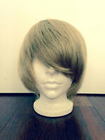 Sandy blonde wig human hair