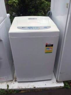 great working 4.5 kg LG top washing machine , can delivery at ext