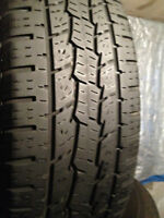 Set of 4 GENERAL Summer tires 215/70/16