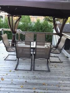 Patio set LIKE NEW 150$