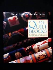 501 Quilt Blocks [Patchwork & Appliqué] - Better Homes & Gardens Loganholme Logan Area Preview