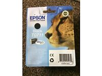 T0711 black Epson printer cartridge