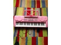 Girls keyboard