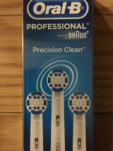 Oral-B Precision Clean replacement brush heads (3 pack)
