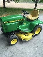 316 John Deere Lawn Tractor 50 inch Deck