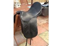 """BEAUTIFUL COUNTRY COMPETITORS HORSE SADDLE 18"""" NARROW FIT GREAT COND CB5 £150"""