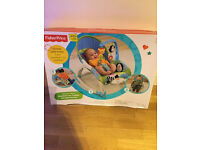 Fisher Price Portable Rocker with vibrating seat from Newborn to Toddler