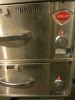 Wells 2 Drawer Warmer 120 V 1 PH 900 W With Pans - $425