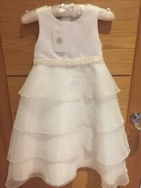 Designers at Debenhams BNWT Girls Tiered Organza Dress - AGED 4