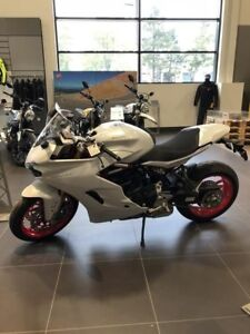 2018 Ducati SuperSport S White Silk