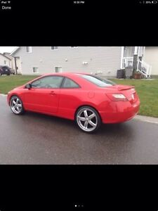 2008 HONDA CIVIC COUPE, new winter tires! $4,500 obo