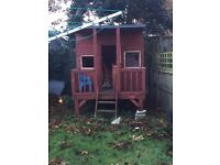 Play house / Wendy house wooden