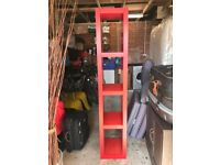 Ikea Red Wooden Unit