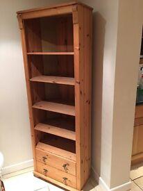 Pine corner dresser unit