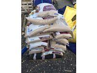 Kiln dried sand 28 bags