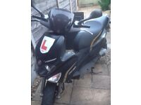 70cc gillera runner reg as a 50cc 2013 model 5 mts mot
