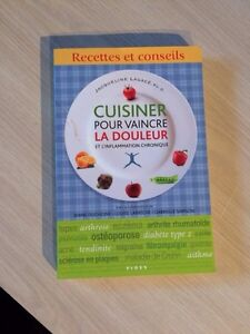 Cuisiner pour vaincre La douleur chronique Jacqueline Lagacé   Gatineau Ottawa / Gatineau Area image 1