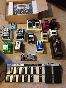 VARIOUS PEDALS - $75