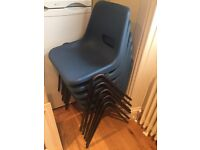 Stacking chairs for sale. 12 available