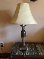 Ensemble de 2 lampes sur pied / 2 lamp set