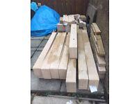 Forticrete Ashton Blocks colour Bath/ Buff various sizes