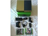 XBOX ONE boxed + 2 games